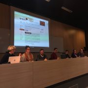 Photograph of panel at the Braillenet conference on December 7th