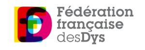 Logo of the Federation francaise desDys, The French Federation of Dyslexia Associations.