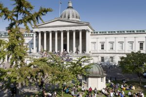 Photograph of the UCL quad