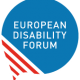 Logo for the European Disability Forum