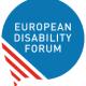 Logo for the European Disability Forum