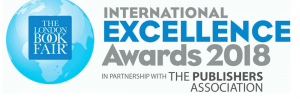 Logo for the International Excellence Awards held at the London Book Fair in partnership with The Publishers association