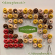 a panel with donuts displayed on it for delegates at ebookcraft