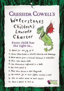 Cressida Cowells Laureate Charter