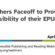 Publishers Faceoff webinar opening slide