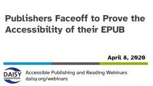 Publisher Faceoff opening slide