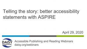 ASPIRE cover slide