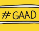 Banner reading #GAAD