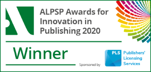 ALPSP Awards Winner Badge