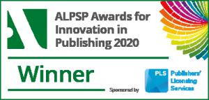 ALPSP Awards Winner Badge