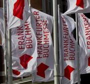 Frankfurt Books Fair flags